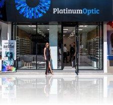 reclama litere luminoase alucobond Platinum Optik ziua Iasi optica medicala