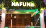 A7. kafune litere luminoase fundal plante