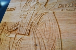 gravura icoana lemn